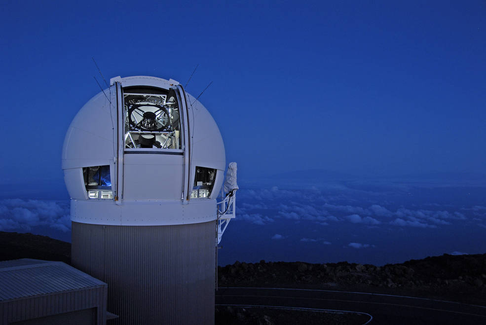 Pan-STARRS1 Telescope, IFA Univeristy of Hawaii