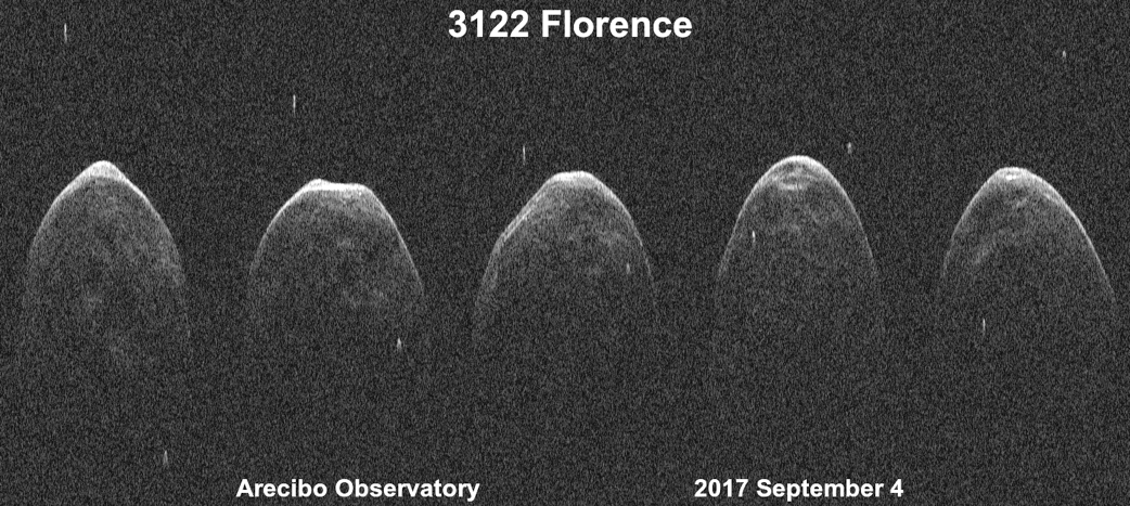 Telescopes Worldwide Collaborate to Observe Asteroid Florence During ...